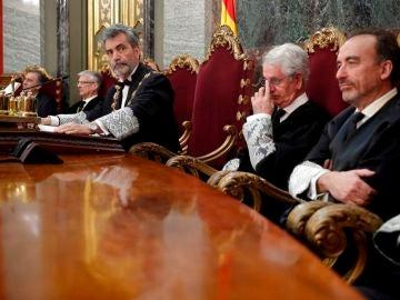 El presidente del Tribunal Supremo (TS) y del Consejo General del Poder Judicial (CGPJ), Carlos Lesmes.