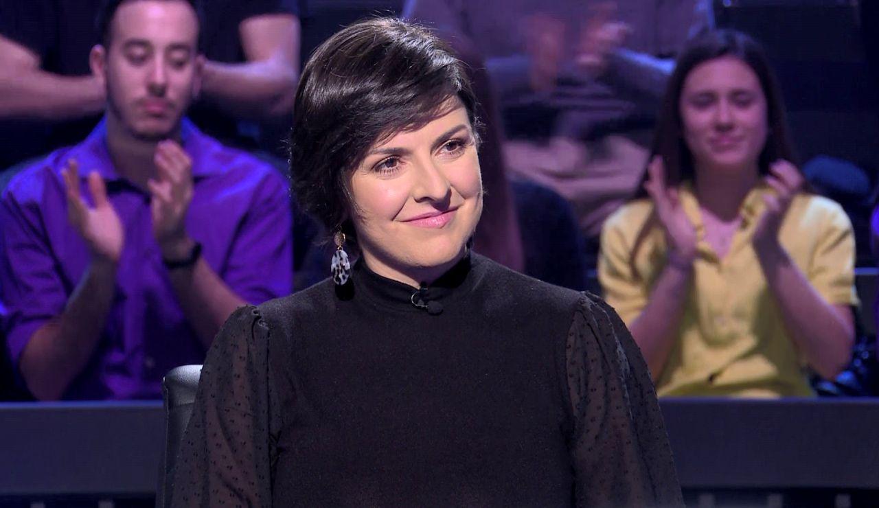 El valiente gesto de Lidia Fernández ante un miedo de juventud, aplaudido en '¿Quién quiere ser millonario?'