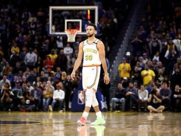 Stephen Curry en el estadio de Golden State Warriors