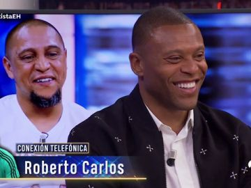 El corte de Roberto Carlos a Júlio Baptista en directo en 'El Hormiguero 3.0'