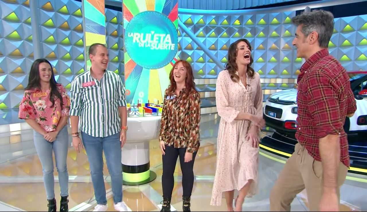 El divertido desprecio de una concursante a Jorge Fernández en 'La ruleta de la suerte'