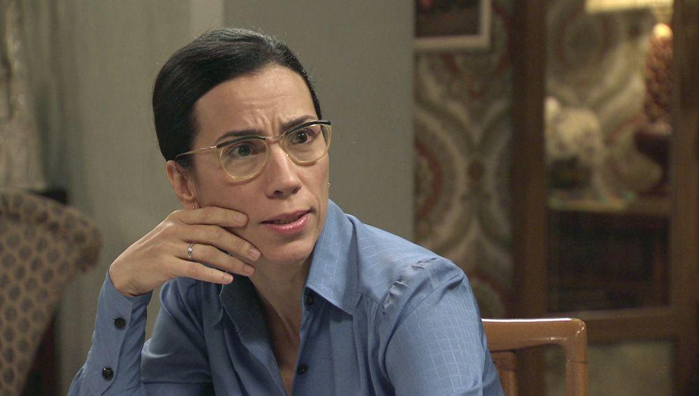 Manolita, decepcionada con Marcelino tras la dura decisión de Luisita