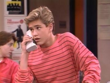 Mark-Paul Gosselaar es Zack Morris en 'Salvados por la campana'