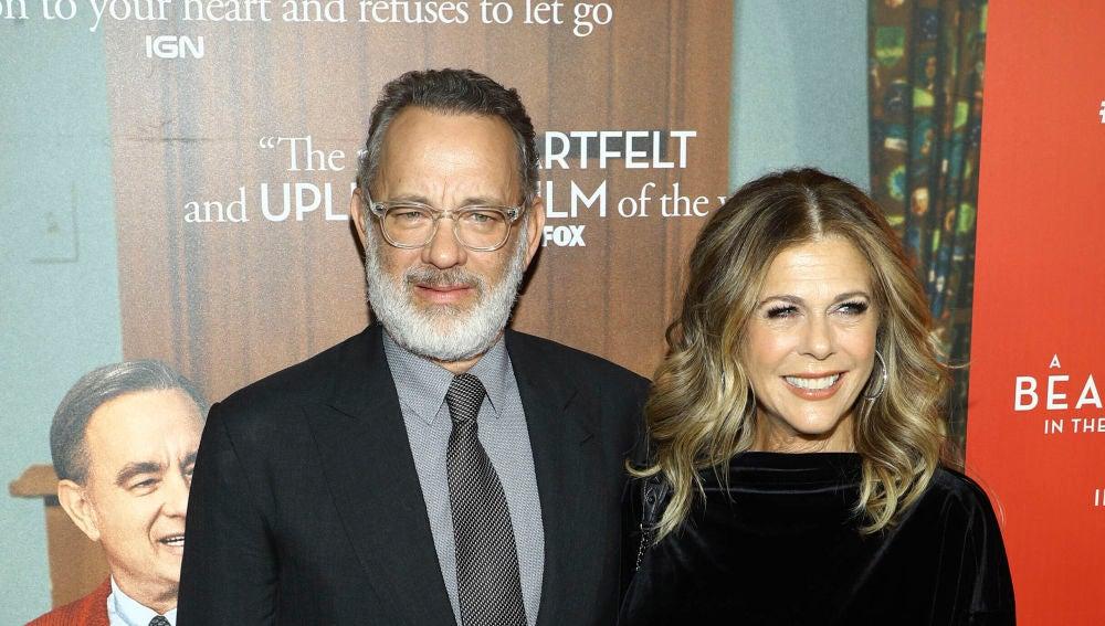 Se confirma también que Tom Hanks y su mujer Rita Wilson tienen coronavirus