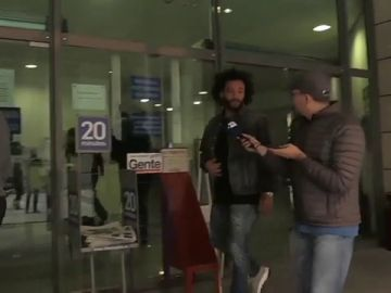 """La reacción de Marcelo cuando se le acerca un periodista en la crisis coronavirus: """"No te acerques"""""""