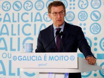 Alberto NComparecencia de Alberto Núñez Feijóo para convocar elecciones en Galicia, streaming en directo