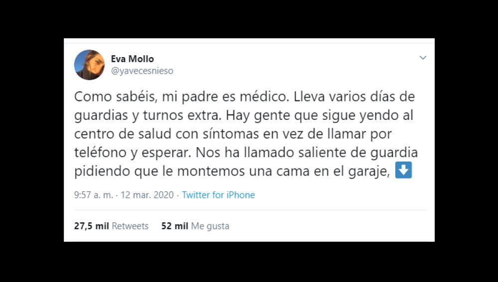 Twitter de @yavecesnieso