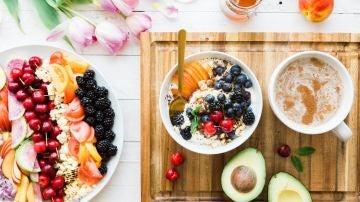 Las frutas y verduras siempre son la mejor opción para calmar el hambre entre horas