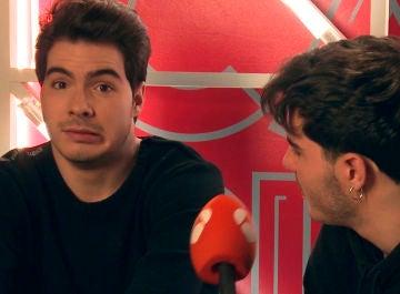 Accidentado momento de Gemeliers al ganar como Andy y Lucas en 'Tu cara me suena'