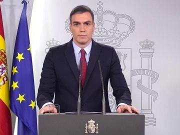 Rueda de prensa de Pedro Sánchez por el coronavirus streaming, en directo