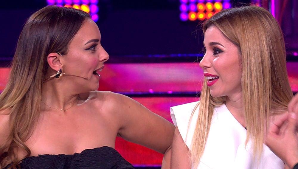 Chenoa y Natalia se reencuentran en 'Tu cara me suena'