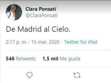 Clara Ponsati.