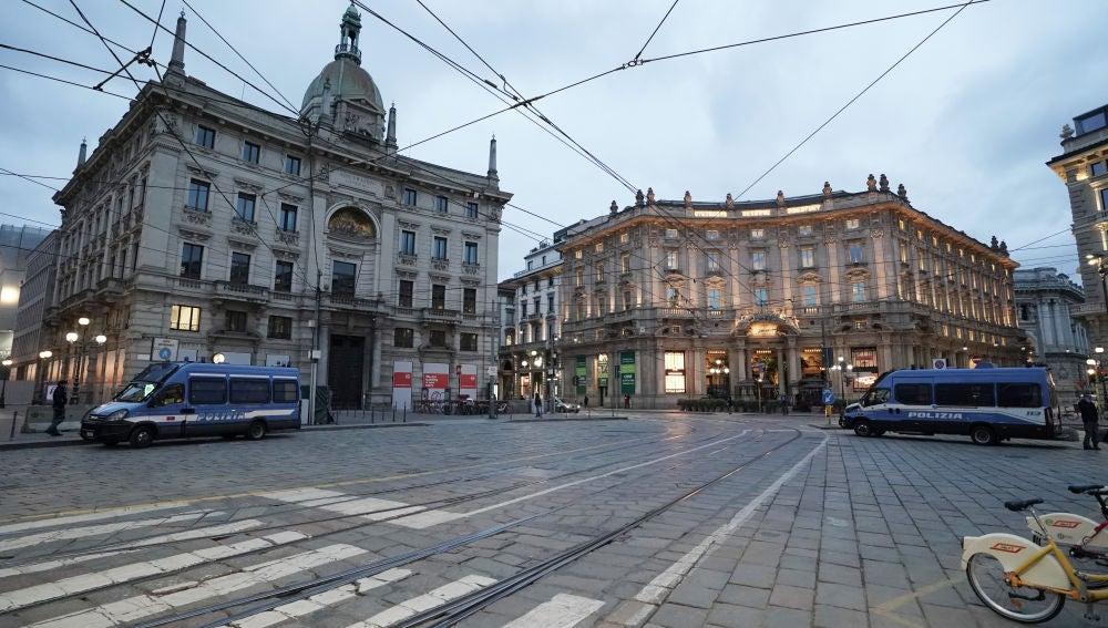 Las calles de Italia, completamente vacías por el coronavirus