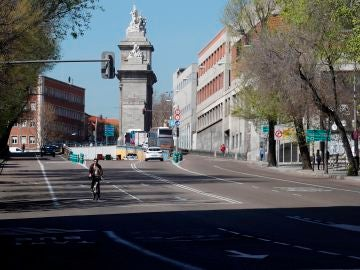 Las calles de Madrid se vacían por el coronavirus