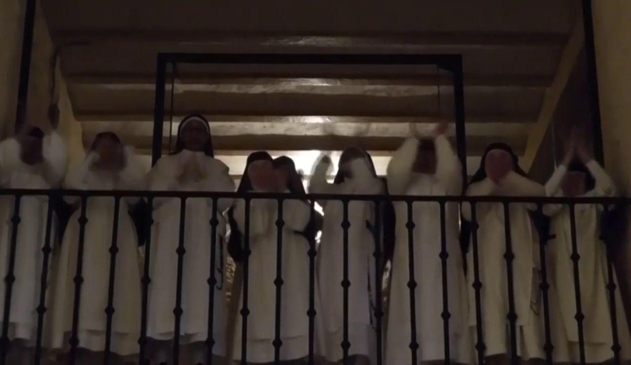 El vídeo de las monjas de clausura de Caleruega aplaudiendo a los sanitarios por el coronavirus