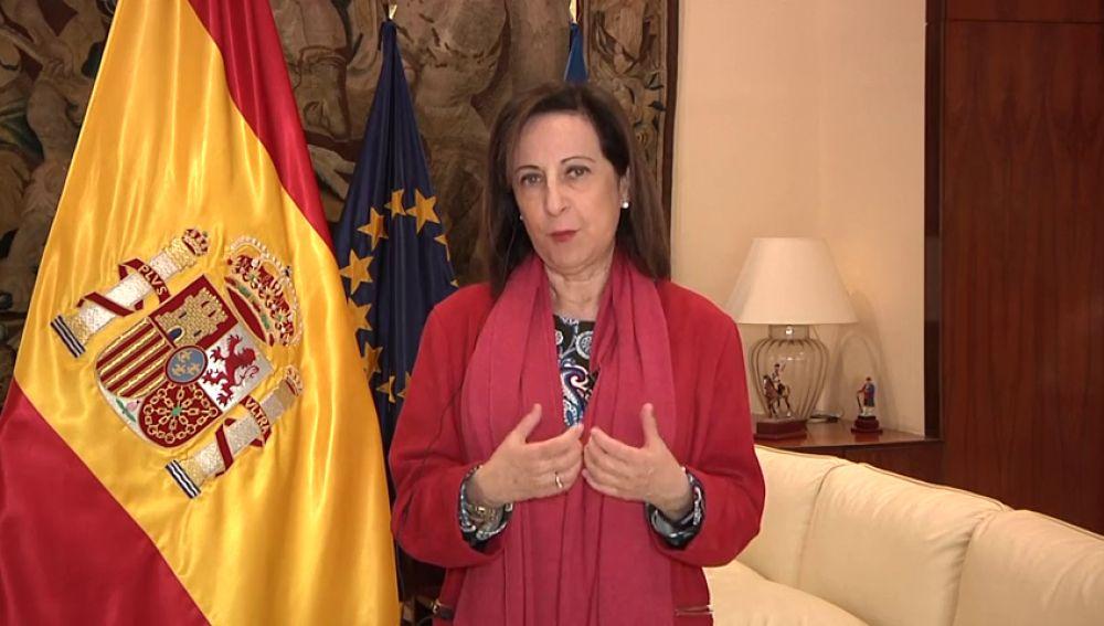 La contundente respuesta de Margarita Robles a Quim Torra por la gestión del coronavirus