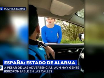 Estado de alarma en España.