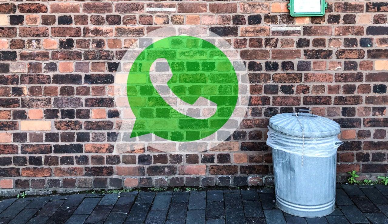 Borrado automático de mensajes de WhatsApp