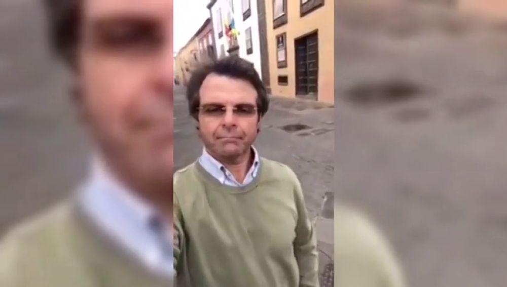 """Así critica el estado de alarma Rafael Díez Folgueras, un alto funcionario de Canarias: """"Yo me quedo en casa si quiero"""""""