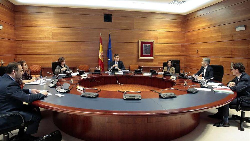 Imagen de Consejo de ministros celebrado la pasada semana