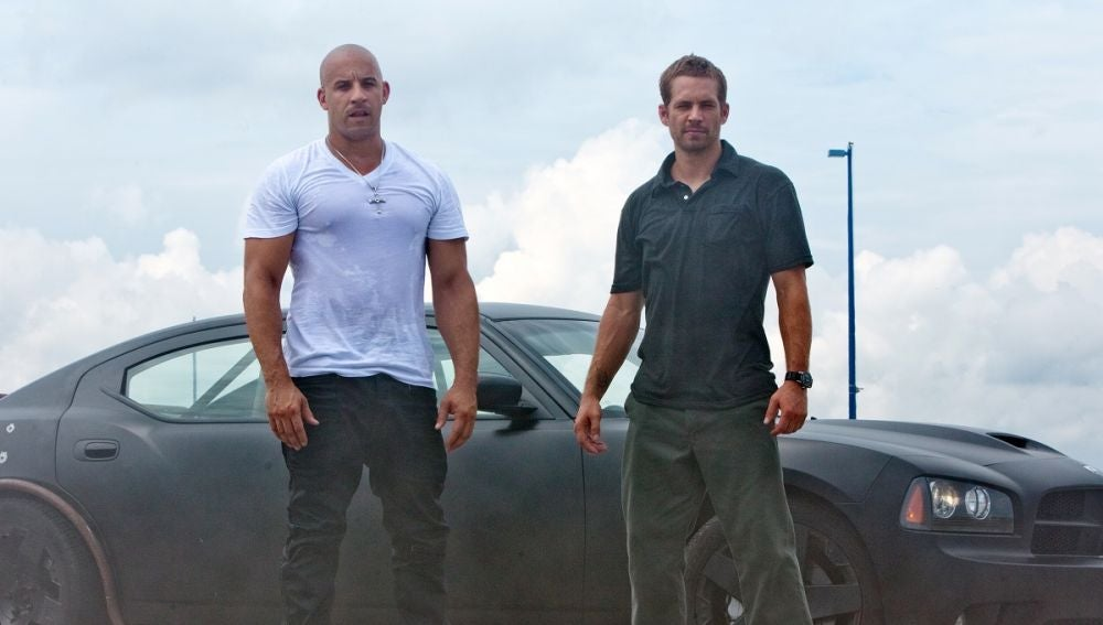 Vin Diesel y Paul Walker en 'Fast and Furious'