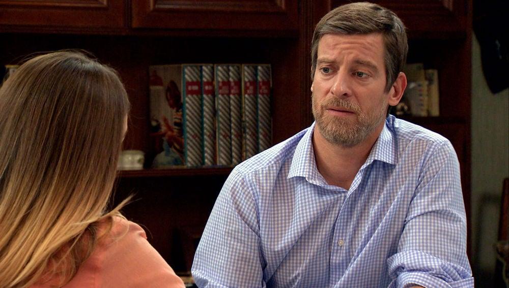 Marcelino, dispuesto a apoyar a Luisita para que tenga una cita con Sebas