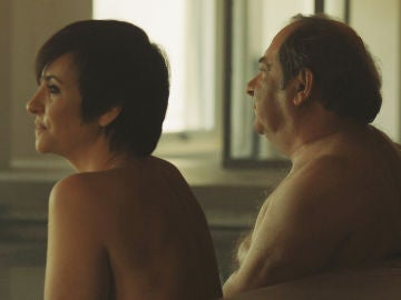 La dura confesión de Armero a Eva durante una sesión de sauna sin micrófonos
