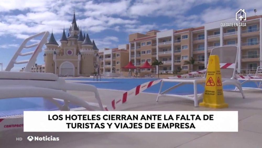 """Los hoteles cierran ante la falta de turistas y viajes de empresa por el coronavirus: """"Hasta los clientes tienen ganas de volver a su país"""""""