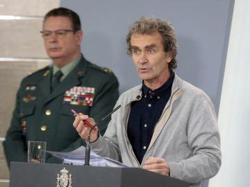 Fernando Simón comparece ante los medios