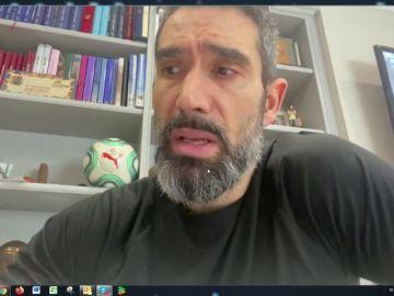 REEMPLAZO: Fernando Sanz habla sobre su su padre, ingresado con coronavirus