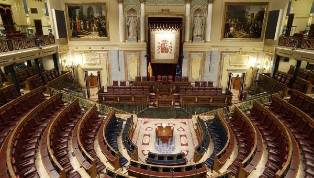Congreso de los Diputados, vacío
