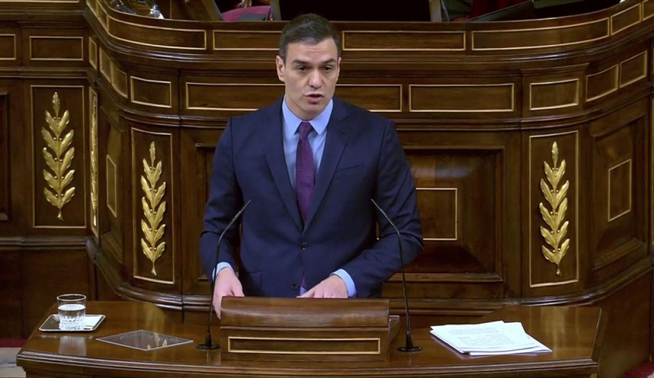 """Pedro Sánchez anuncia que presentará unos nuevos Presupuestos del Estado """"extrasociales"""" cuando pase el coronavirus"""