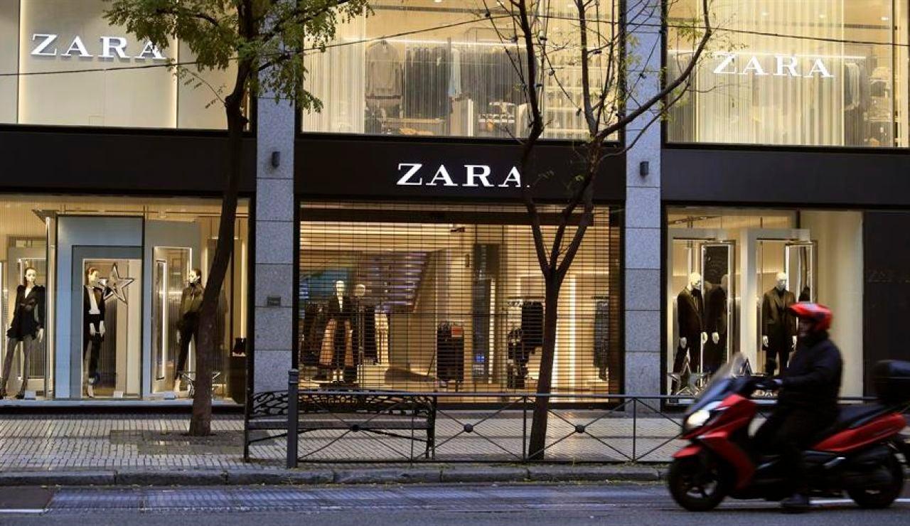 Una tienda de Zara