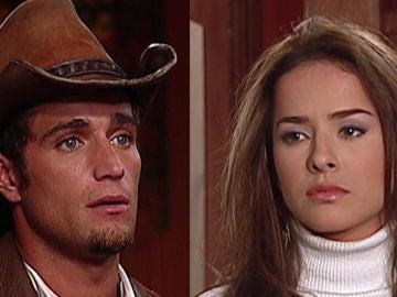 Michel Brown y Danna García como Norma Elizondo y Franco Reyes en 'Pasión de Gavilanes'