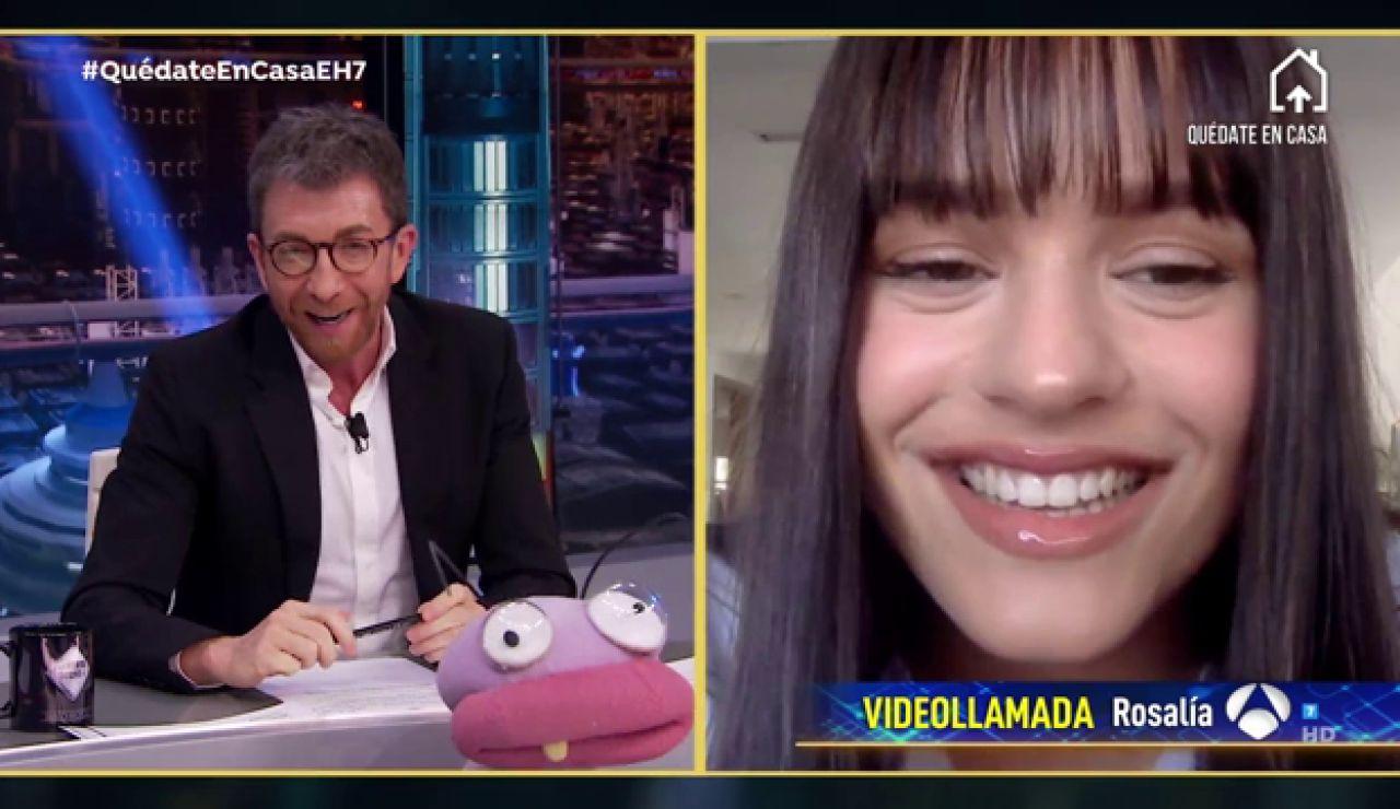 Rosalía confiesa en 'El Hormiguero 3.0' los motivos por los que se cortó el flequillo ella sola