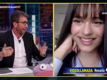 ¿A quién llama más Rosalía durante el confinamiento? La cantante responde en 'El Hormiguero 3.0'