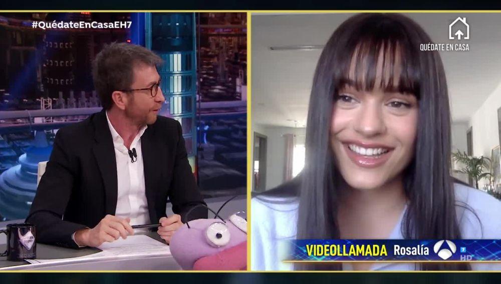 El Hormiguero 3.0: (01-04-20) Rosalía y Lolita
