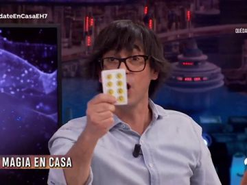 El truco de magia de Luis Piedrahita que podrás hacer en tu propia casa