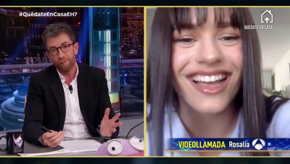 Disfruta de la entrevista completa de Rosalía en 'El Hormiguero 3.0'
