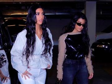 Kim Karrdashian y Kourtney  Kardashian