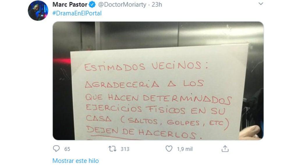 Tuit de @doctormoriarty
