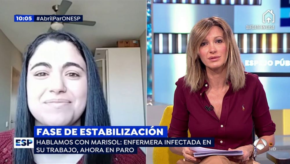 Marisol, enfermera infectada