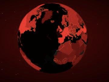 Mapa del coronavirus en el mundo en tiempo real