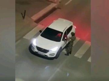 Se hace pasar por legionario y se pone a hacer controles a los conductores en Padul, Granada