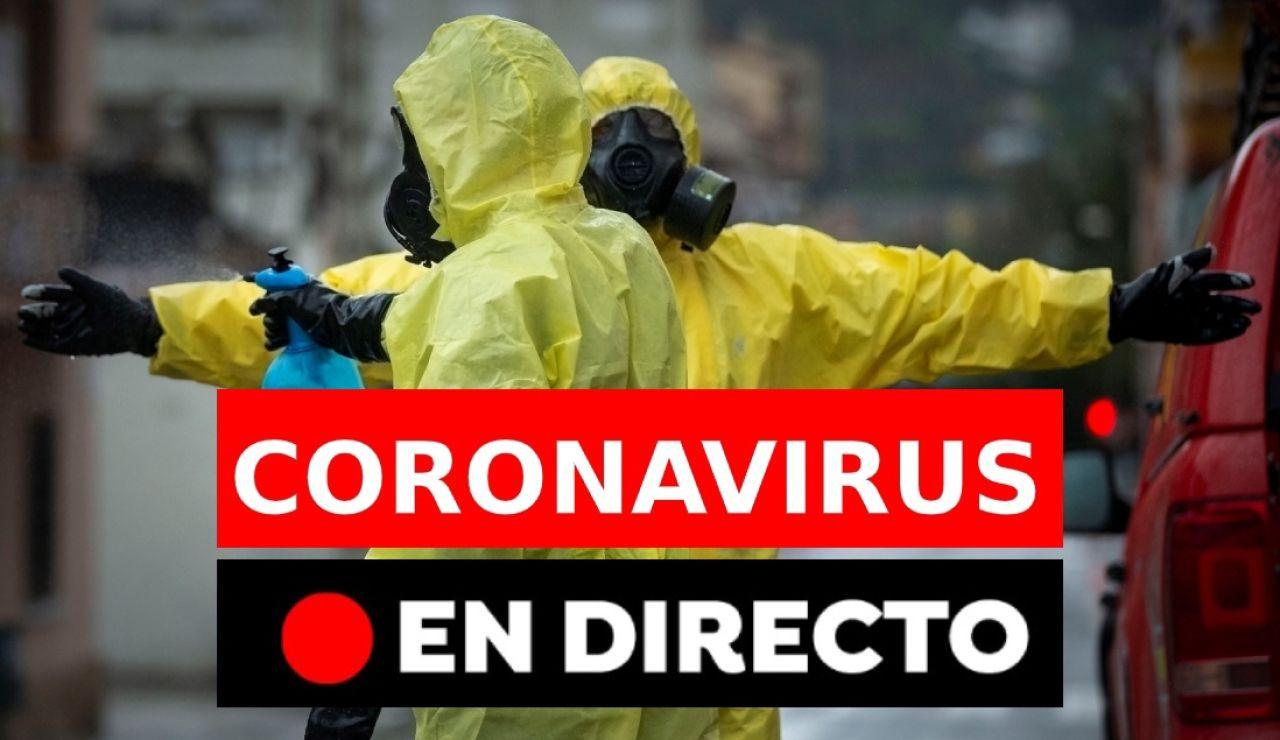 Coronavirus España: Últimos casos, datos y noticias, última hora en directo