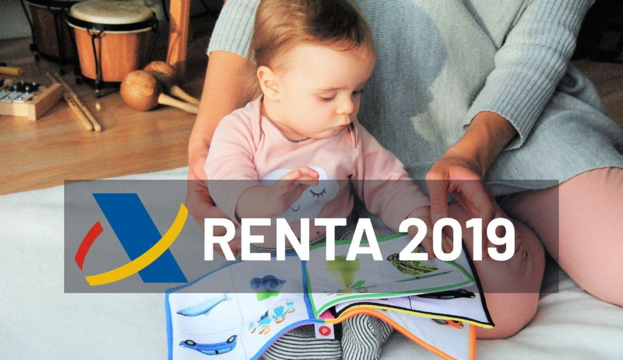 Renta 2019: Deducciones por maternidad y paternidad en la declaración de la renta