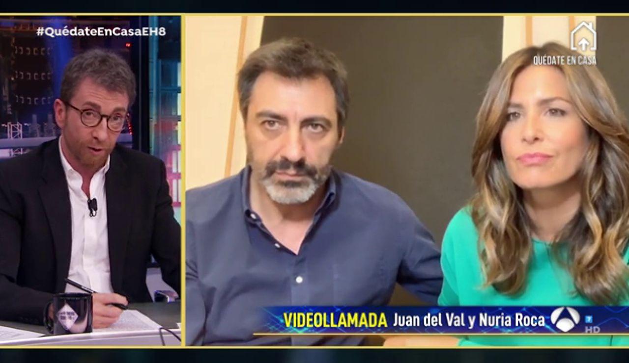 Juan del Val y Nuria Roca