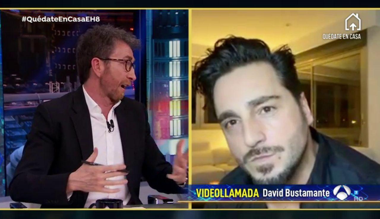 Disfruta de la entrevista al completo de David Bustamante en 'El Hormiguero'