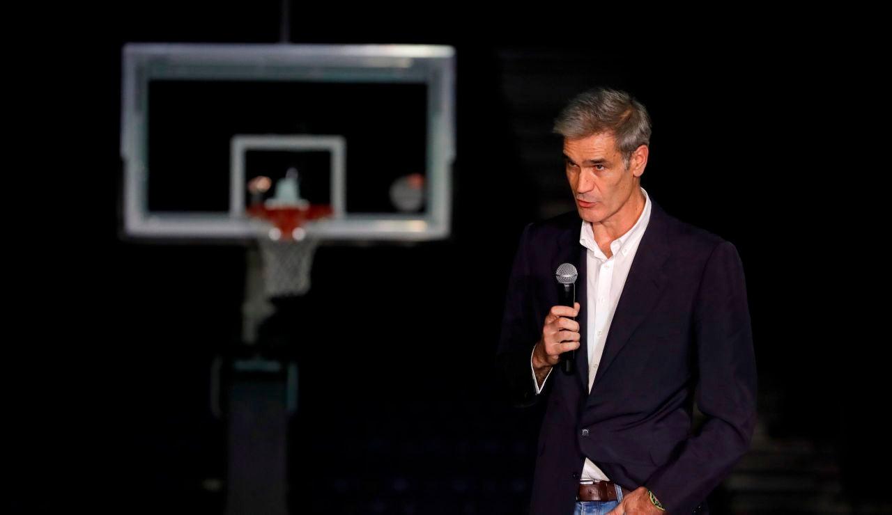 El presidente de la ACB, Antonio Martín