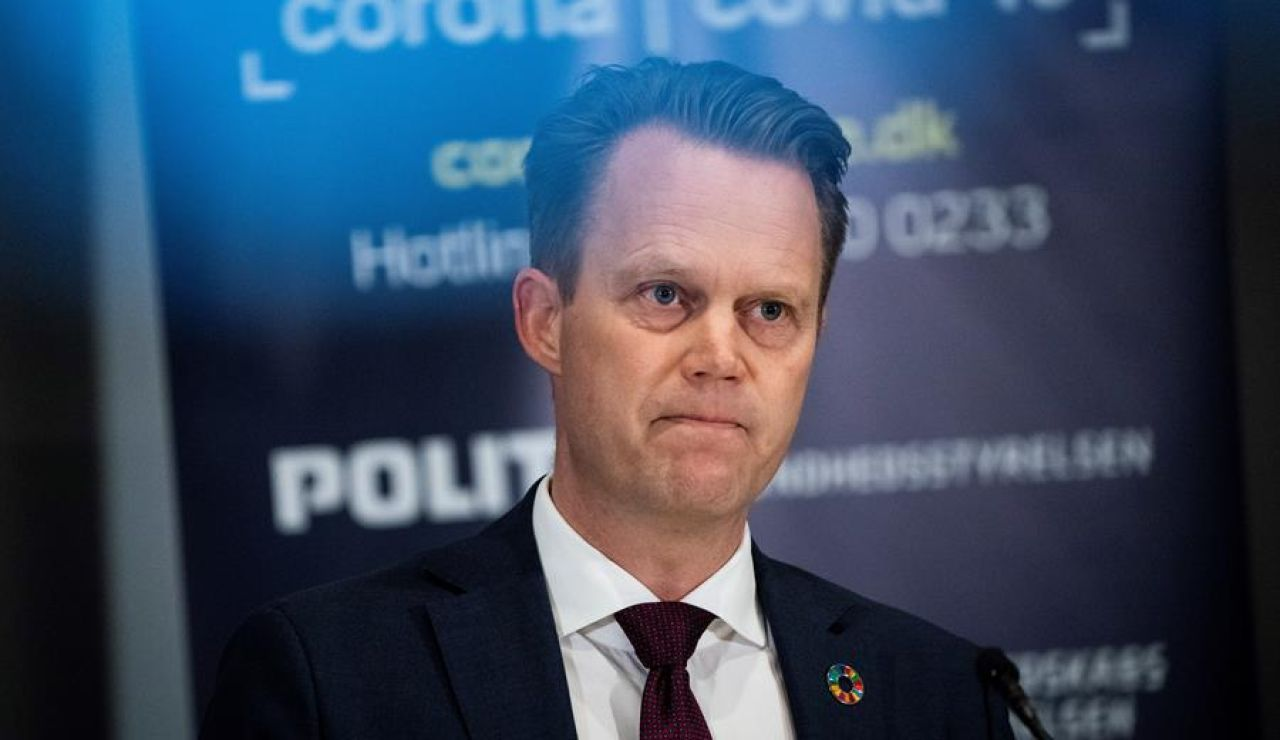 Ministro de Asuntos Exteriores danés, Jeppe Kofod